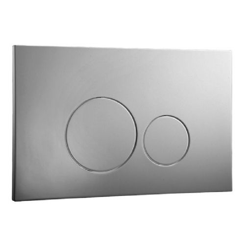 Abacus Easi-Plan Iso 2 Dual Flush Plate - Chrome
